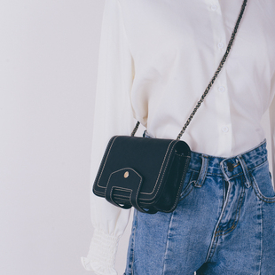 Chic chain small bag female 2017 new wave Korean version of the wild fashion ulzzang Messenger mini shoulder bag