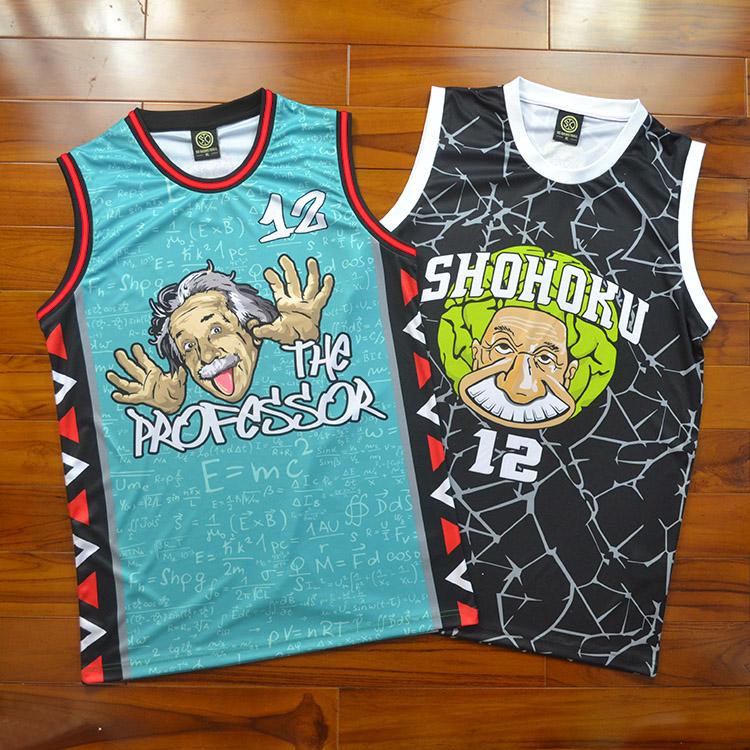 SD街球教授街头篮球衣魄炼队服男女diy篮球服背心篮球衣订做定制热销24件假一赔三