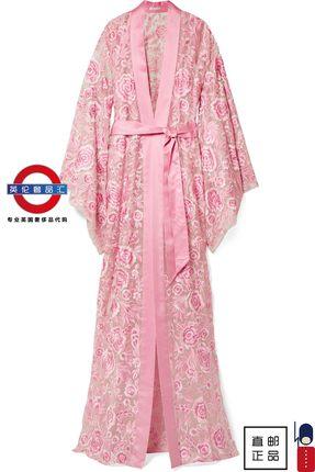 英伦代购 3女新款Naeem Khan刺绣真丝欧亘纱外套  伦敦包税直邮