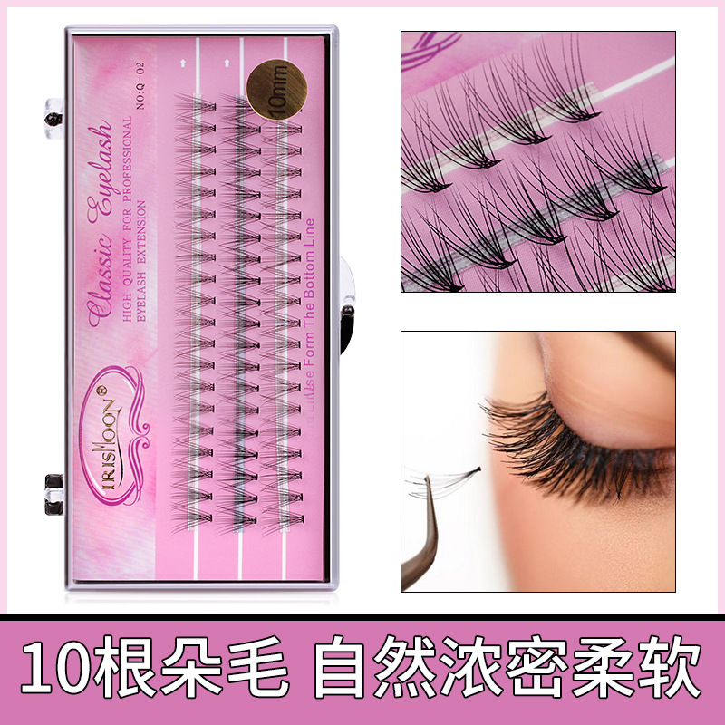 Eyelashes factory eyelashes chicken claws eyelashes thick beginners grafting eyelashes thick nature can be grafted on their own