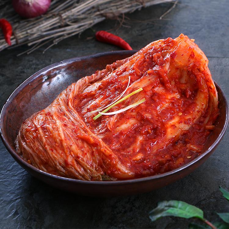 韩国泡菜正宗辣白菜东北酸辣白菜朝鲜下饭菜延边泡菜500g 包邮