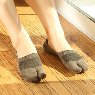 二趾襪子女防滑透氣網眼短筒木屐豬蹄鞋襪拇指夾趾二指襪分趾襪薄