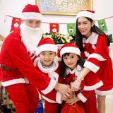 采纳福 儿童圣诞服套装 劵后5.8元包邮  0点开始
