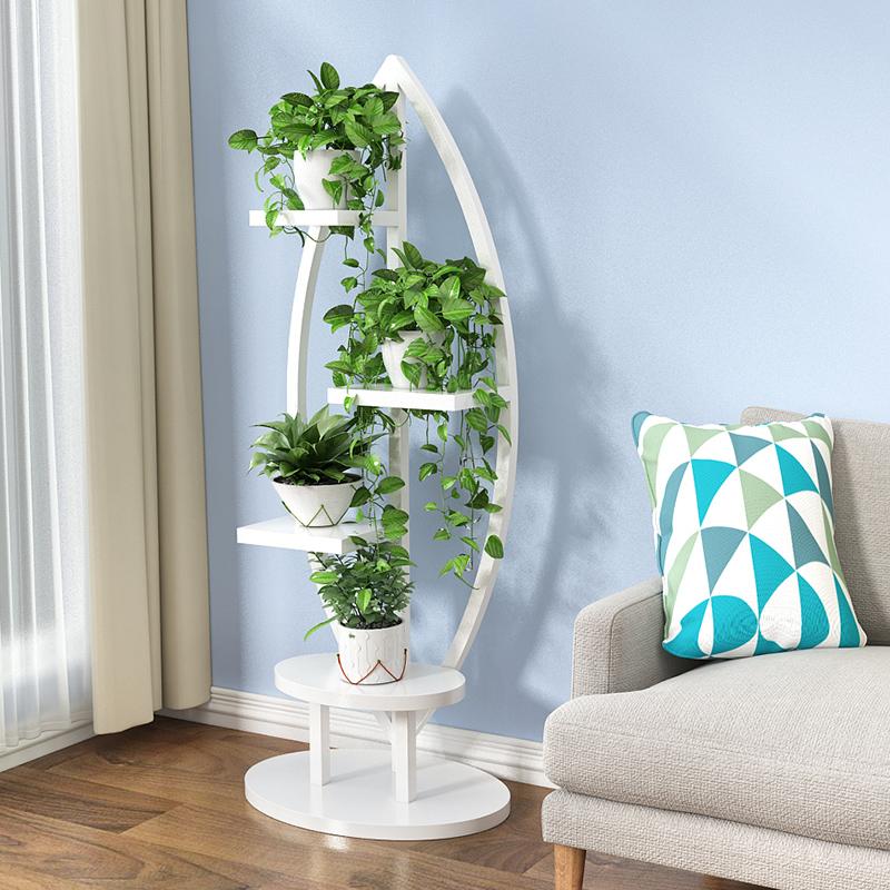 客厅家用花架子多层室内特价置物架满100元可用5元优惠券