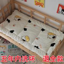 定做儿童床垫幼儿园床垫被加厚褥子纯棉花床褥全棉婴儿卡通垫可洗