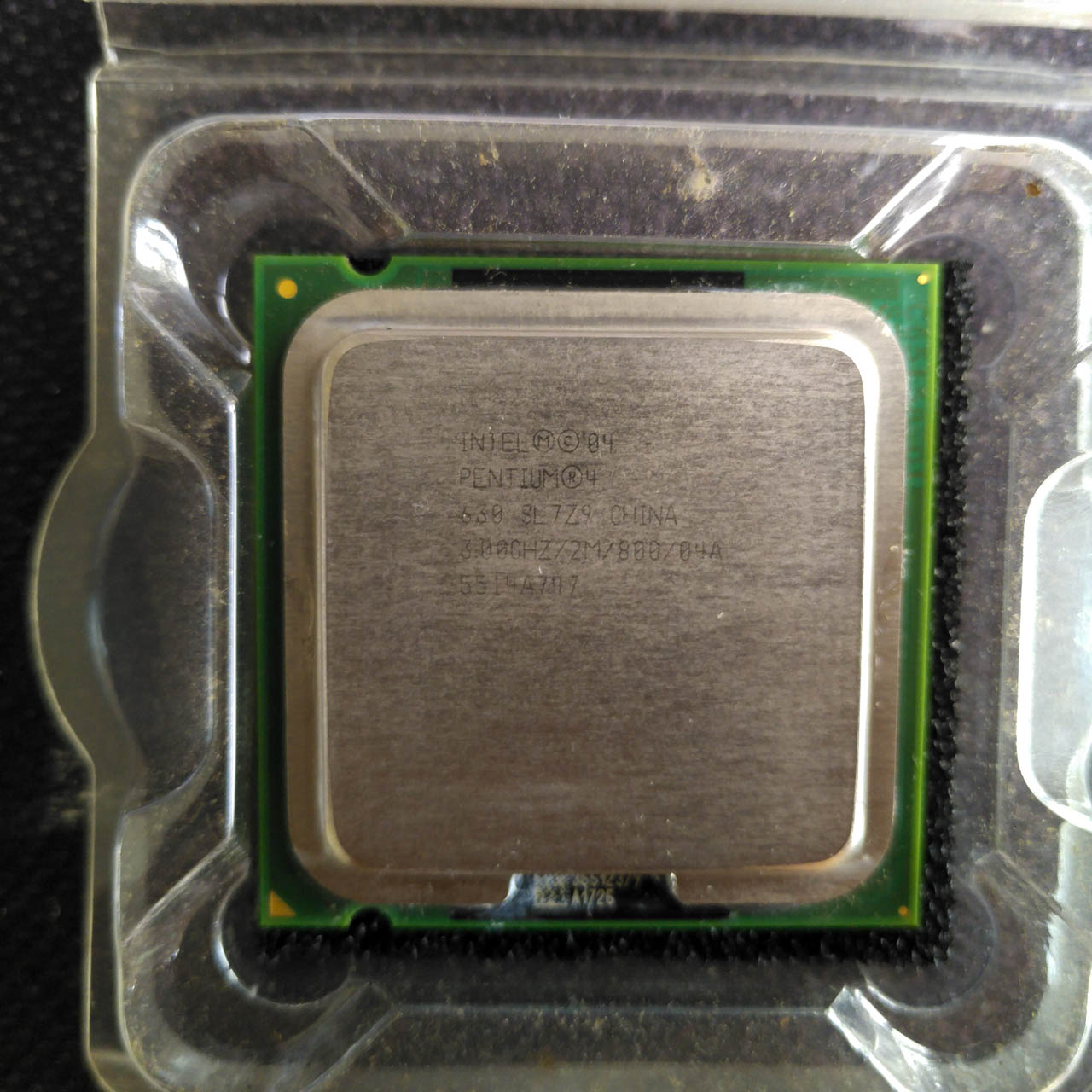 最强单核 英特尔奔腾4 630 3.0GHz 775针