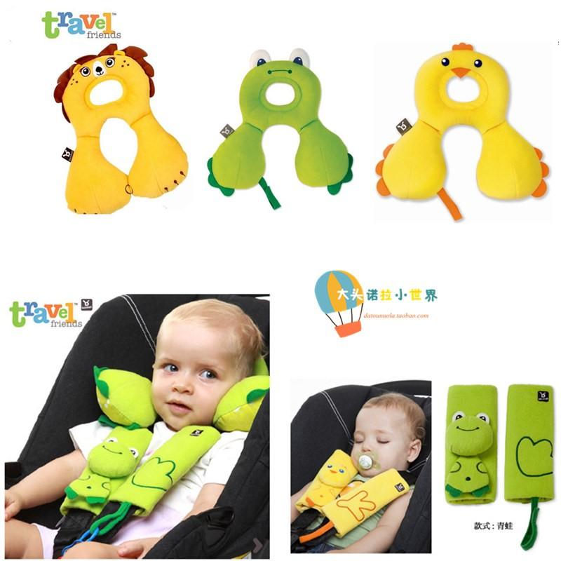 Banbet儿童动物安全带保护套/定型枕护颈枕防落推车枕U形枕