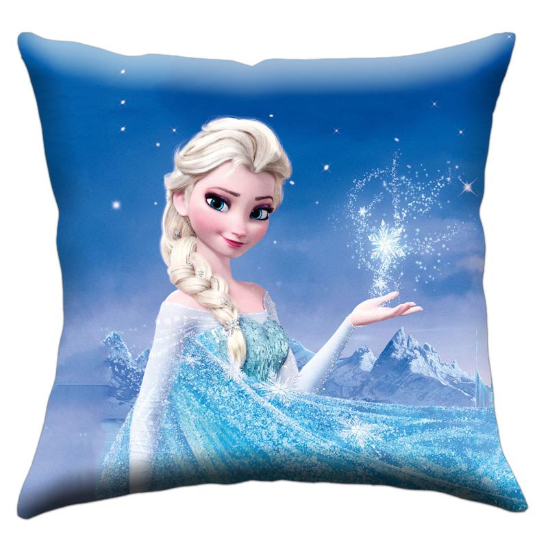 满28.00元可用3元优惠券白雪公主艾莎安娜冰雪奇缘靠枕垫