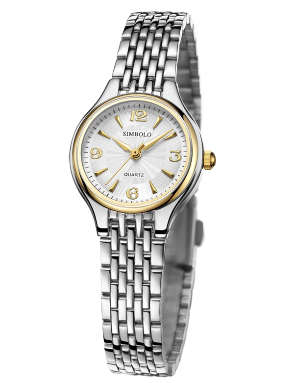 Simbolo St. Bailey wristwatch womens 9267 waterproof quartz wristwatch simple and accurate