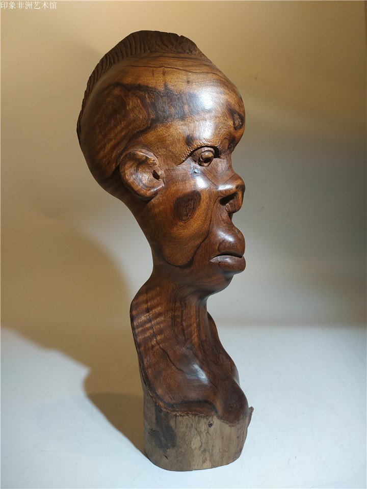 African wood carving crafts sandalwood carving portrait carving sage home and office ornaments