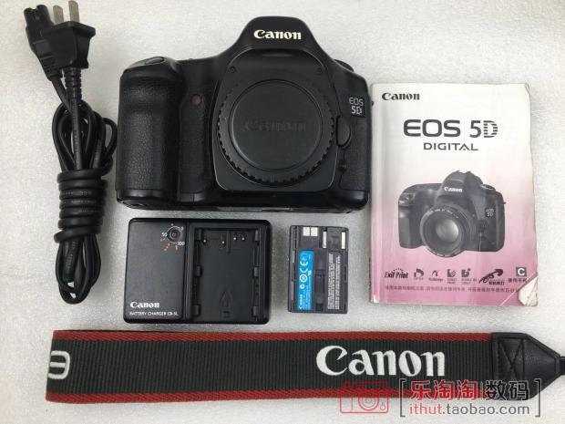 Canon 5D SLR Camera Canon old 5D used Canon 5D entry level full frame inventory machine