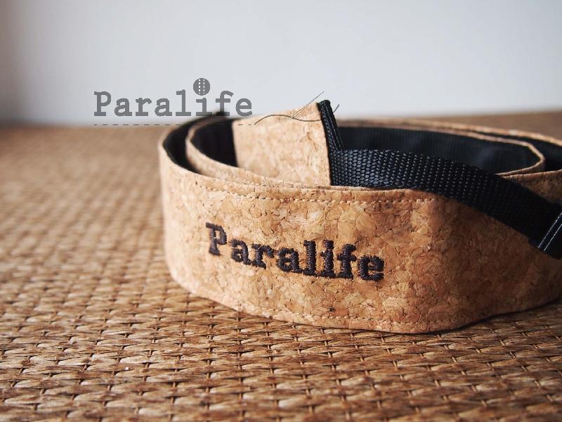 Paralife定制情人节礼物 名字 软木粗相机背带 微单单反 相机肩带