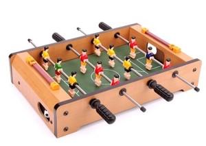 桌上足球台桌式足球...