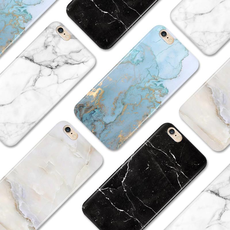 苹果8/6s大理石纹X硅胶情侣款男冷淡风女款iphone7plus手机壳6软