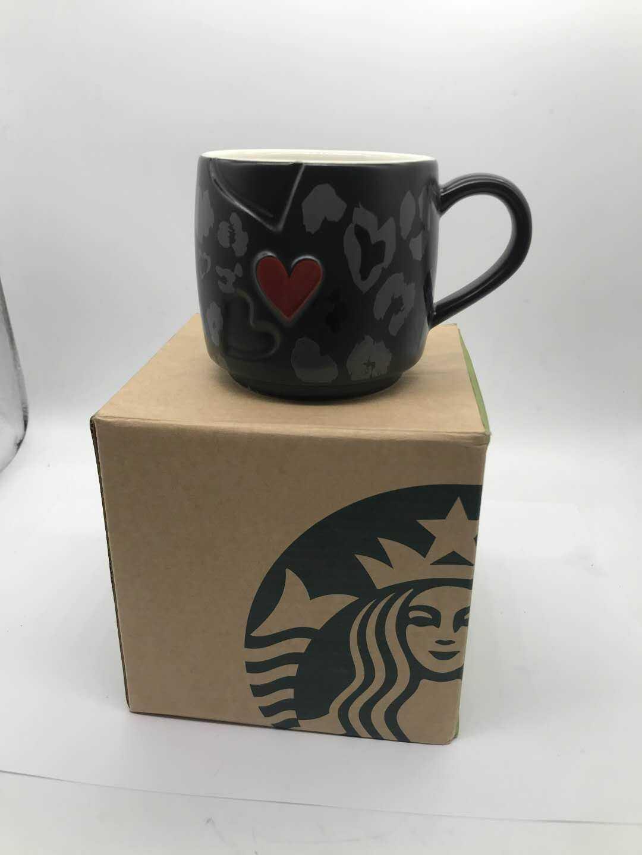 Starbucks love mark new bone China Mug Black