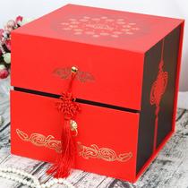 中式喜糖喜饼大号礼盒成品喜礼创意中国风伴手礼结婚婚庆喜事回礼