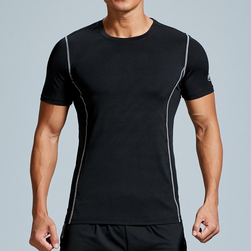 官方正品轩尧耐克泰健身房男夏季短袖速干透气弹力紧身衣运动训练