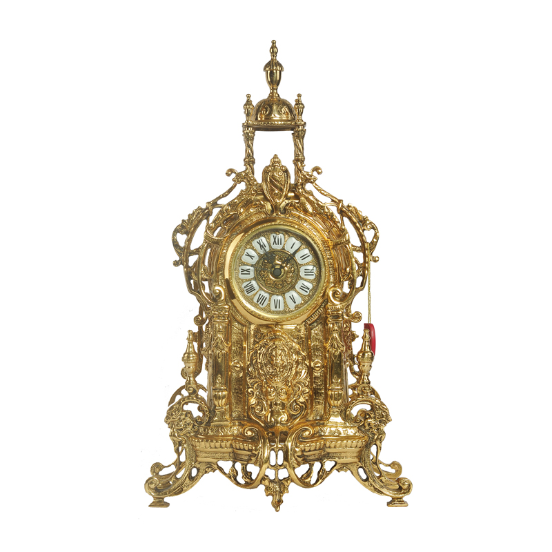 Spanish imported luxury European Versailles Palace clock copper clock household ornament clock bronze clock 2452
