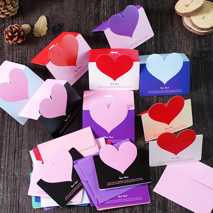 Творческий день святого валентина отстаивать учитель фестиваль благодарность любовь благословение поздравительные открытки конверт день рождения пустой маленькие карты лист сделанный на заказ