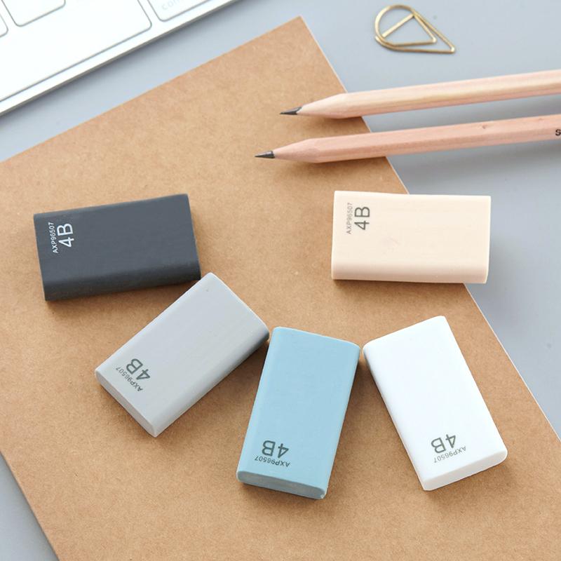 晨光优品擦得干净学生擦得干净4B美术橡皮 考试绘画铅笔擦橡皮擦