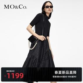 moco2021春夏新款小摩安珂连衣裙