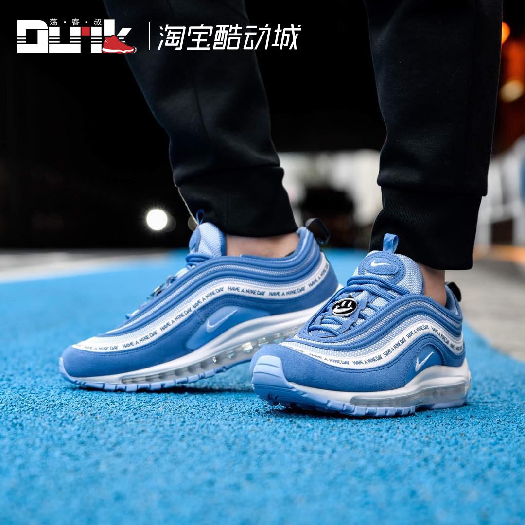 nike air max 97黑白男女联名跑步鞋满509.00元可用1元优惠券