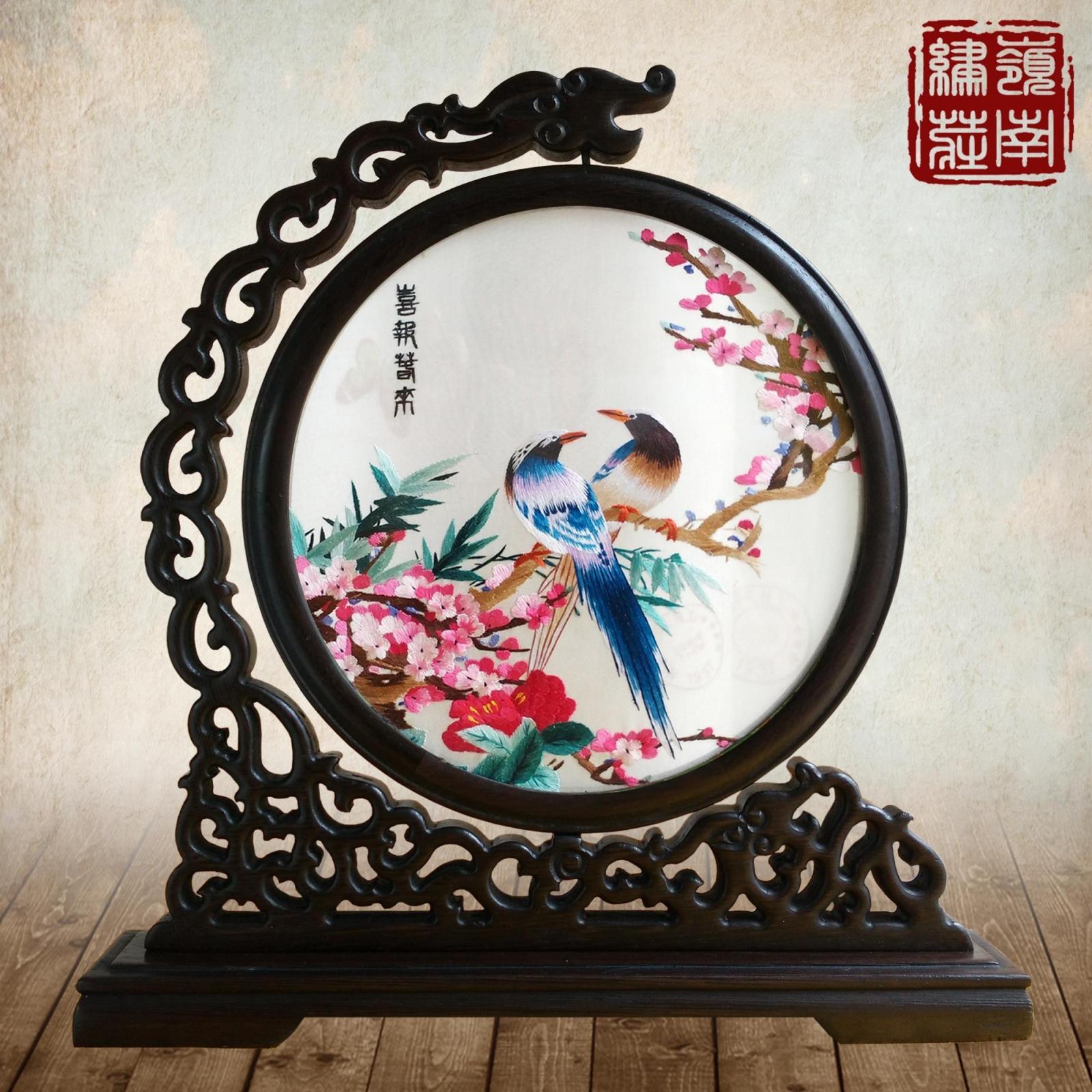 Волна вышивать широкий вышивать провинция гуандун вышивать исключительно вручную вышивка вводить партнер декоративный бизнес выйти замуж творческий домой семья украшение