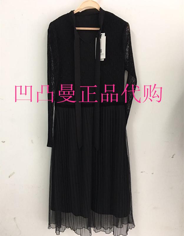 二等品,2017新款冬装香佳人苑影女装专柜正品J749011 连衣裙639