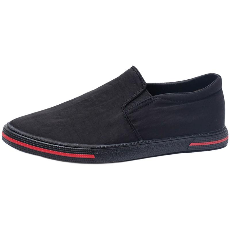 春季2021新款潮鞋帆布一脚蹬布鞋评价如何