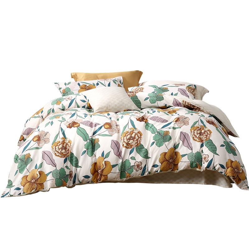 富安娜圣之花四件套全棉网红款床单评价如何