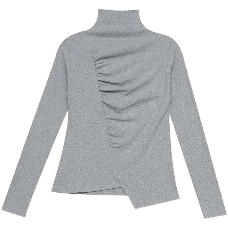 高领春秋新款韩版不规则紧身打底衫质量怎么样