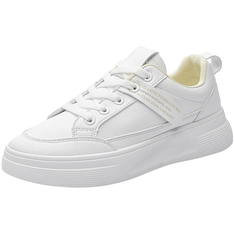 人本厚底休闲增高小白鞋2021女鞋质量如何