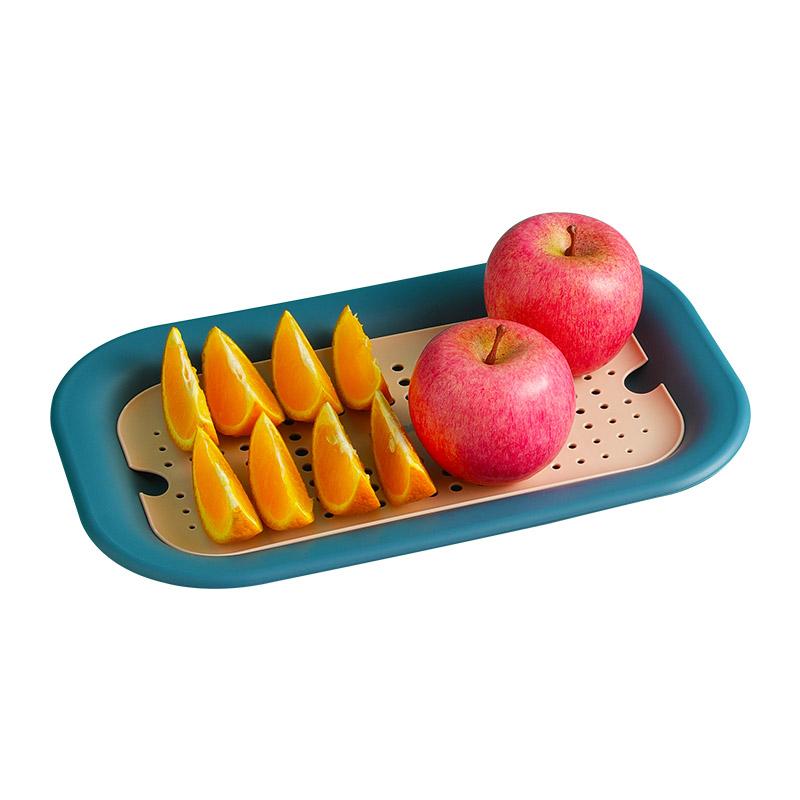 清清美双层沥水北欧创意洗水果托盘价格多少好不好用