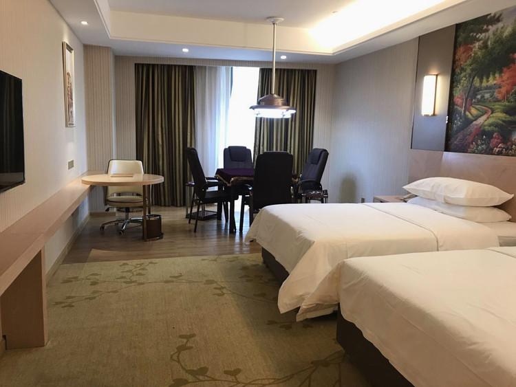 维也纳国际酒店(澧县政务中心新区店)棋牌双床房