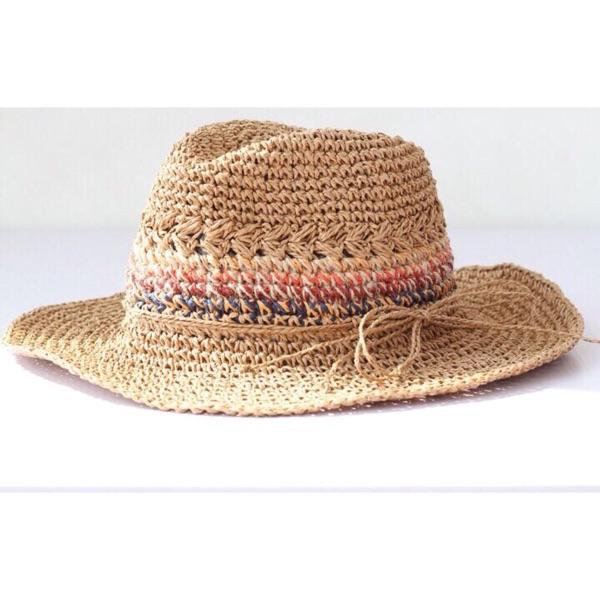 Весна новый сезон цветные полоски качественный импортный товар мисс соломенная шляпа сын цилиндр затенение солнцезащитный крем дикий песчаный пляж праздник
