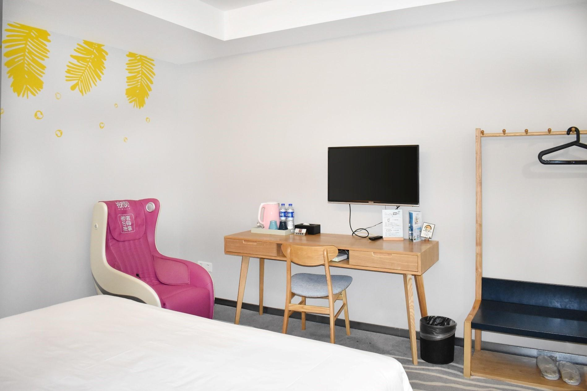 ブログ精品ホテル(深圳蛇口店)エレガントな大ベッドルーム