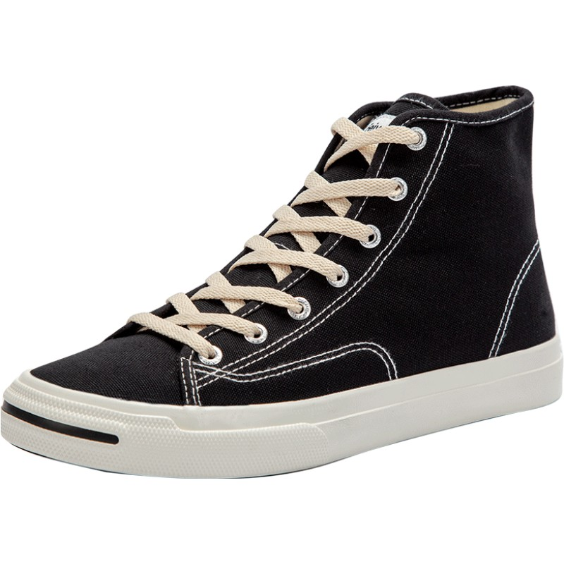 feiyue /飞跃高帮春季简约帆布鞋使用评测