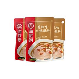 【海底捞】火锅醇香芝麻花生香辣火锅蘸料120g*3袋调料调味料
