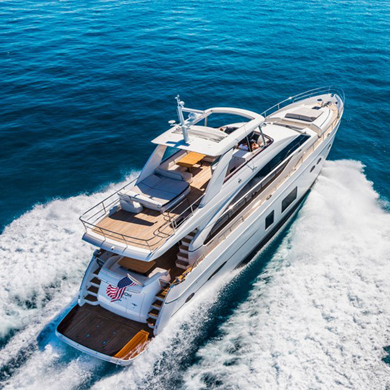 Sanya luxury import yacht rental sailing boat charter boat go to sea snorkeling surfing casual fight motorboat sea fishing