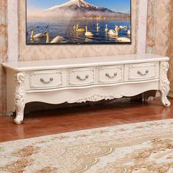 客厅家具欧式多抽屉电视柜小户型雕花电视机柜地柜现代简约矮柜子