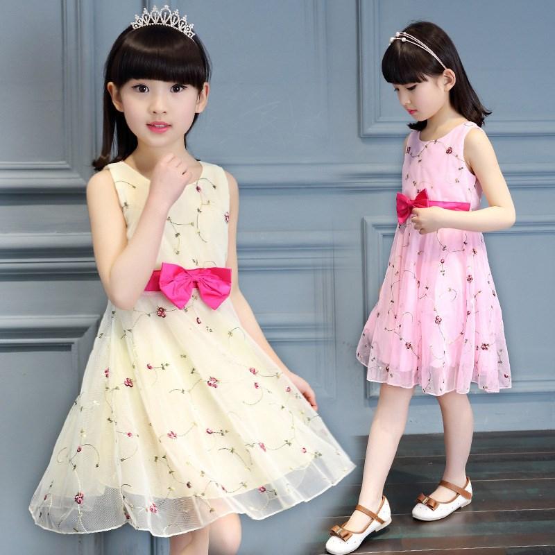 女宝宝夏装婴幼儿童纯棉连衣裙女宝夏季女童公主背心裙子1-2岁0