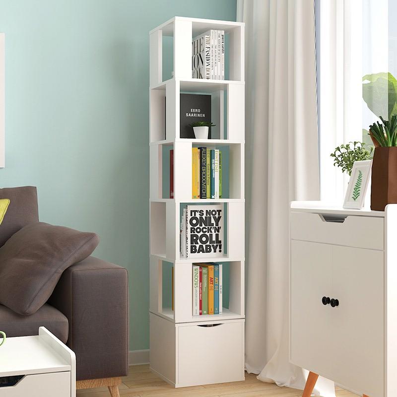 创意360度学生卧室旋转经济型书架110.08元包邮