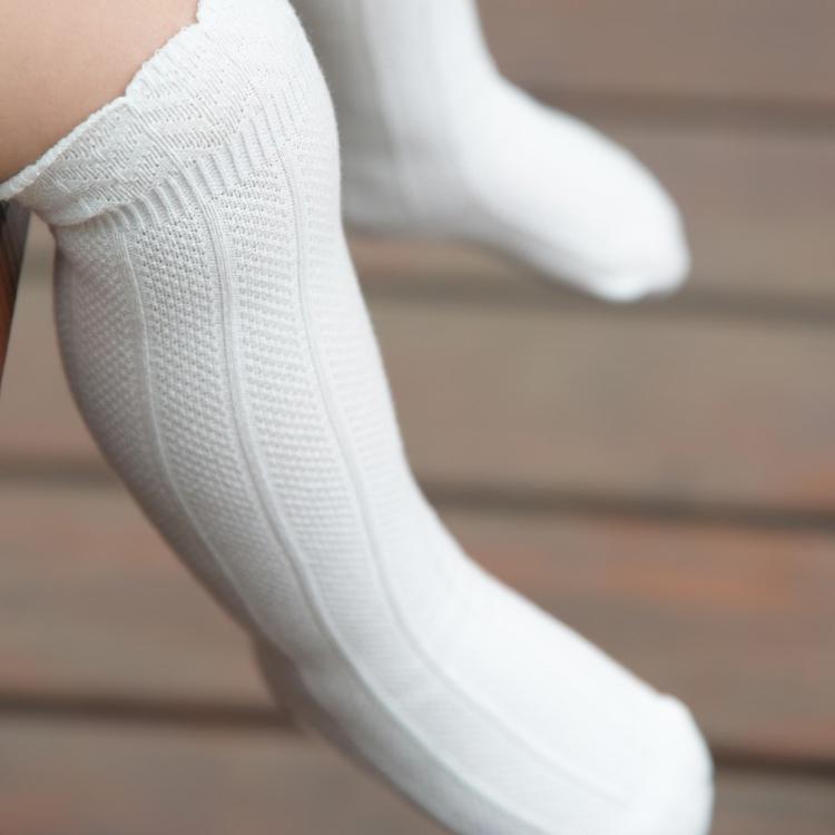 На все сезоны ребенок ребенок носки хлопок новорожденных носок ребенок трубка чулки kneepad носки