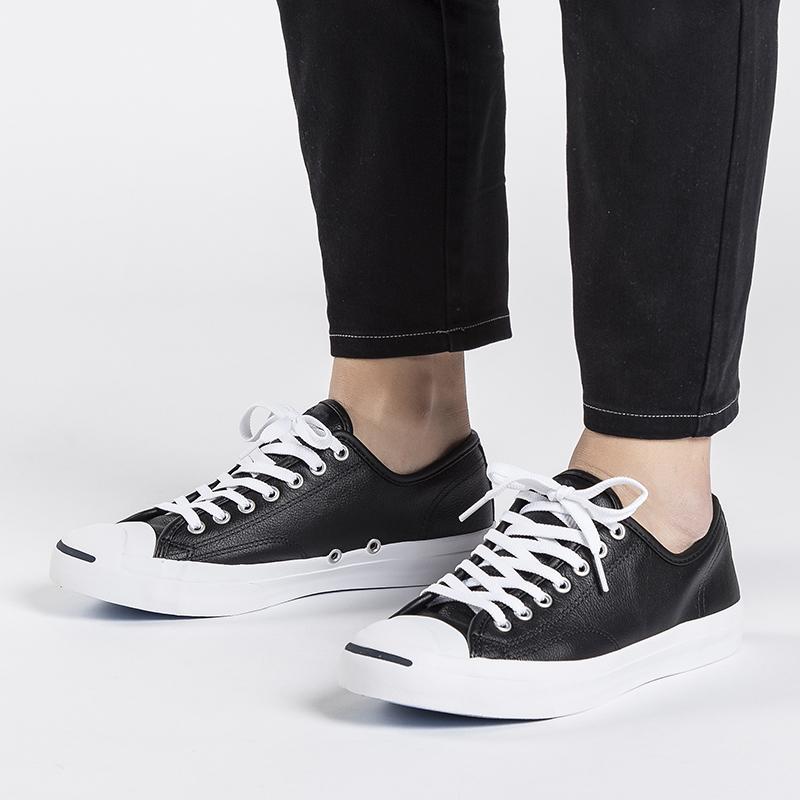 热销0件正品保证匡威女鞋2019夏季正品皮质运动男鞋