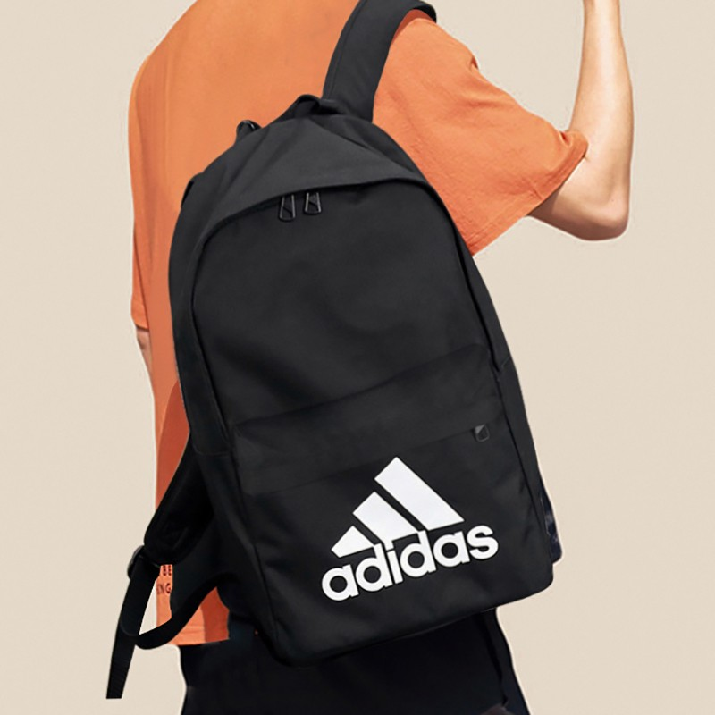 Adidas Adidas backpack men's and women's bags official website flagship large capacity Backpack