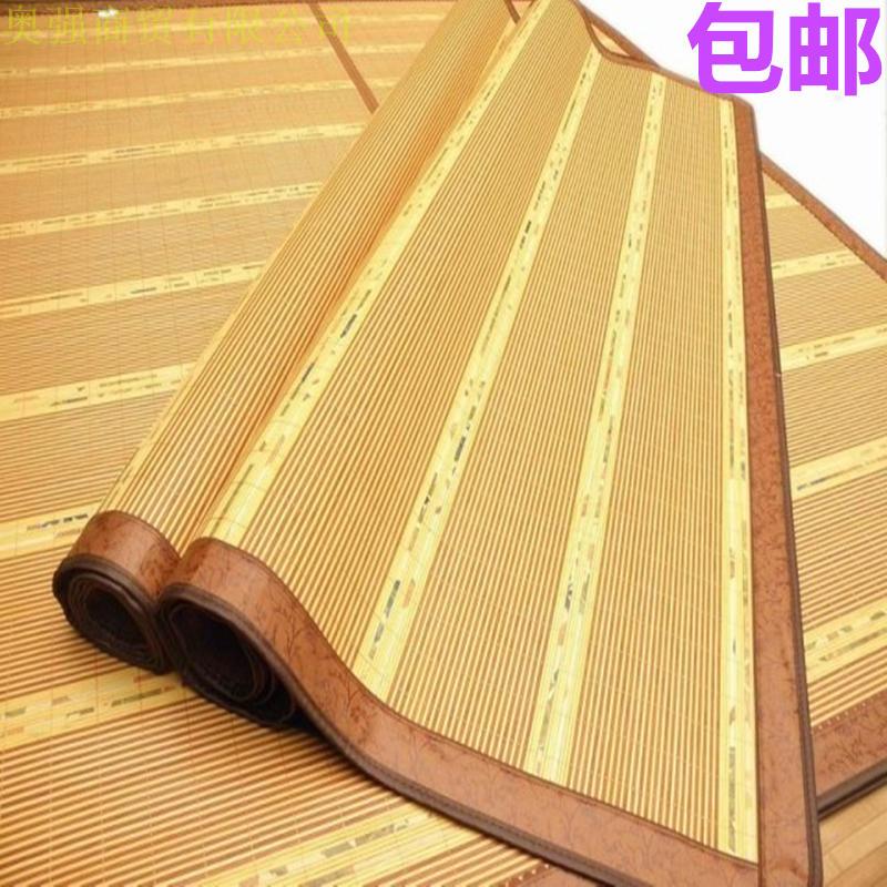 80CM золото дерево дуплекс сиденье студент один в бамбук сиденье охрана окружающей среды бамбук коврик обуглевание зеркало комната с несколькими кроватями коврики
