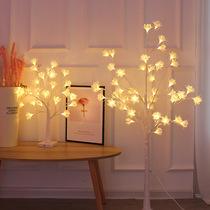 灯饰LED新中式落地灯简约现代客厅餐厅角几卧室书房创意酒店过道