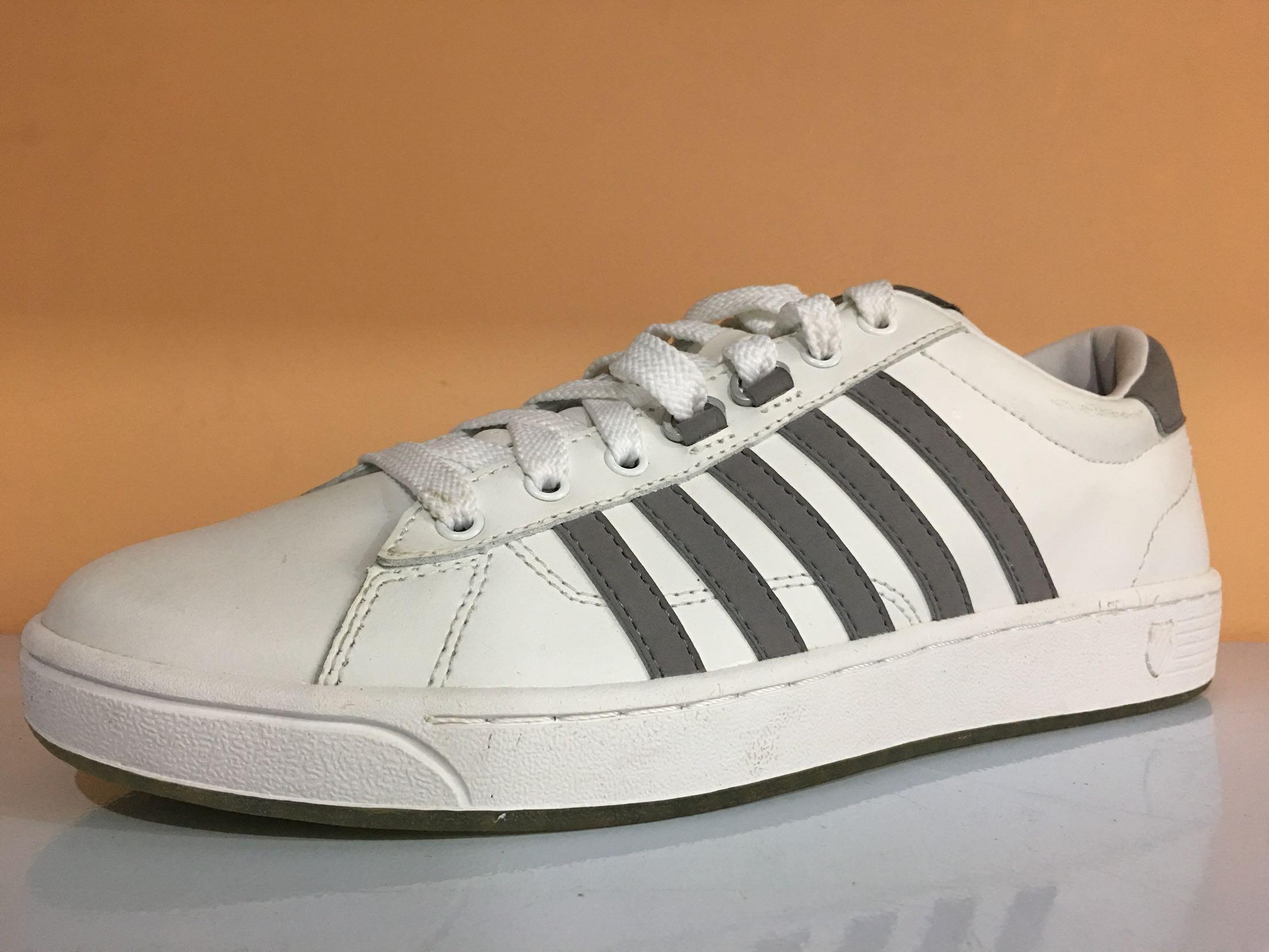 43威时尚百搭耐磨休闲鞋样品鞋牛皮男牛筋底小白鞋s正品海外版盖