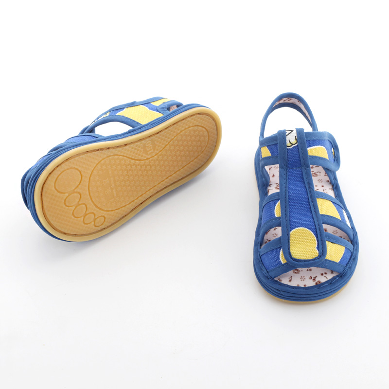 男宝宝布凉鞋儿童男童夏季婴儿童鞋券后45.00元