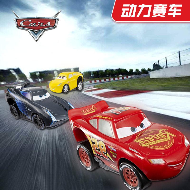 赛车总动员3车模玩具动力赛车CARS 3闪电麦昆坤黑风暴杰克逊酷姐
